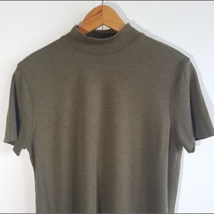 KIT AND ACE Good Feels Mock Neck Tee